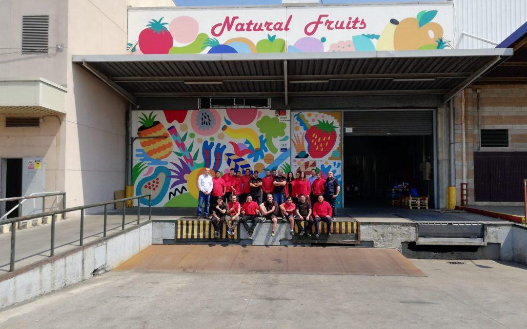 Natural Fruits llega al millón de Kilos de Fruta y verdura repartidos en un mes