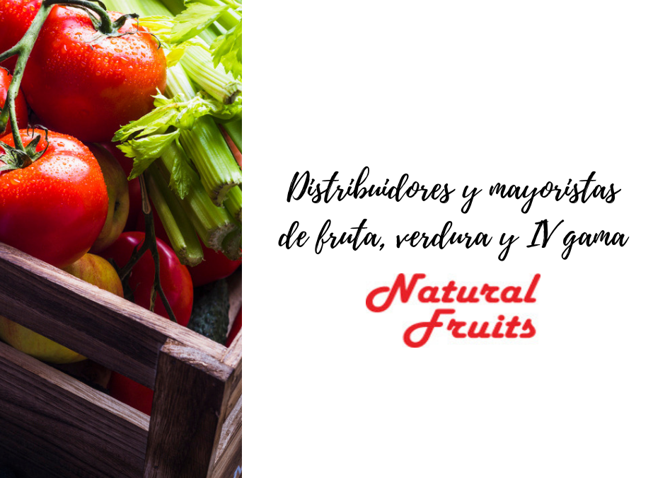 Distribuidores y mayoristas de fruta, verdura y IV gama