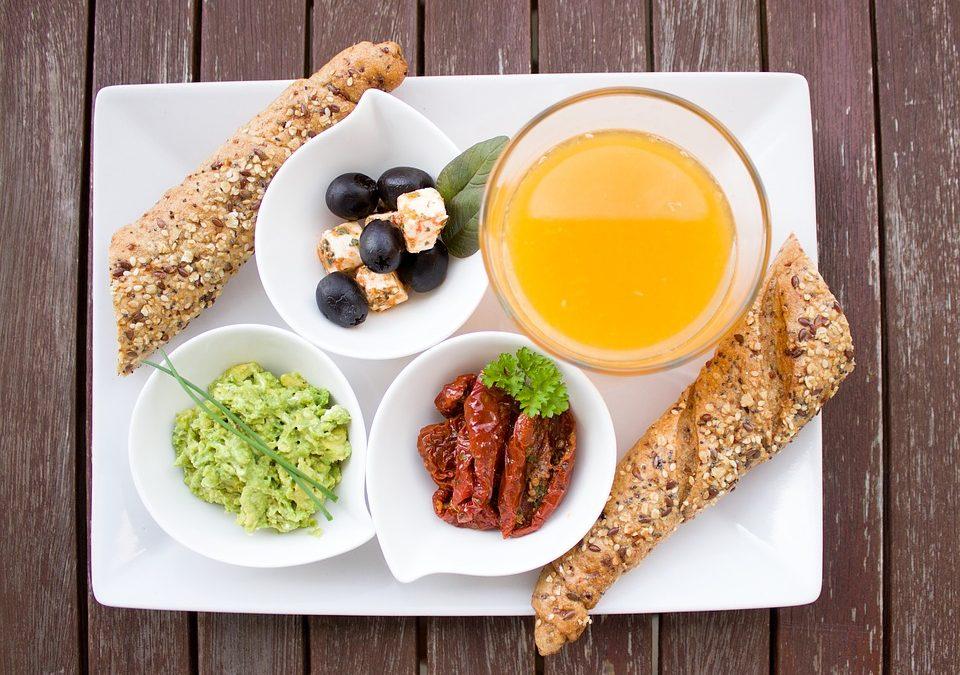 Desayunos con verduras para la cocina de colectividades.
