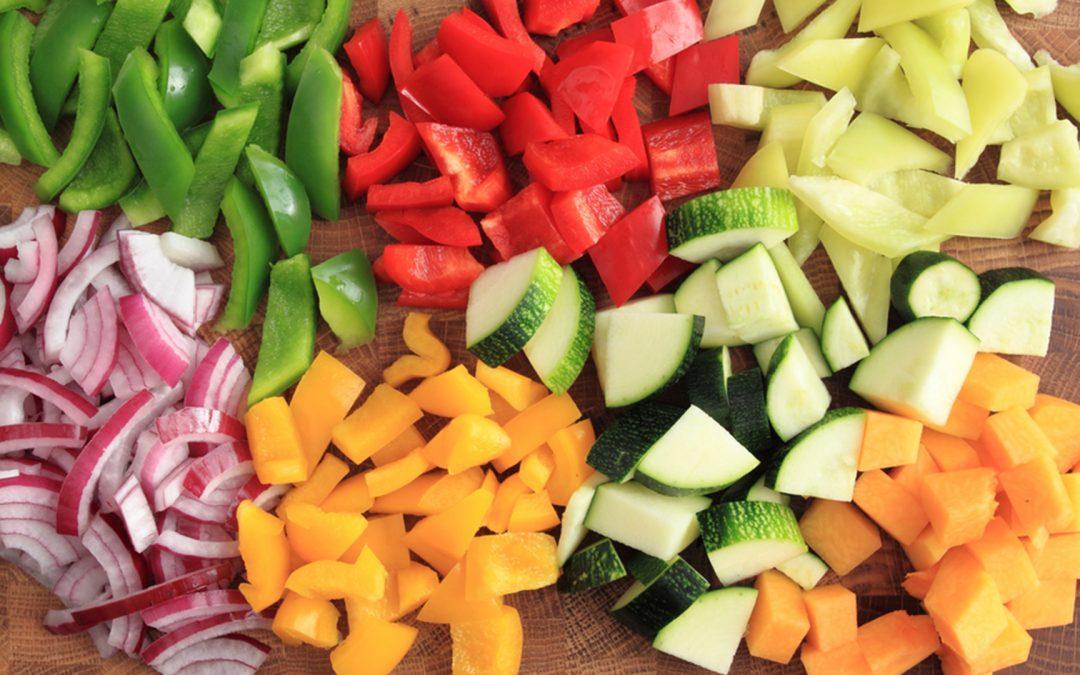 IV GAMA: Frutas y verduras listas para cocinar.